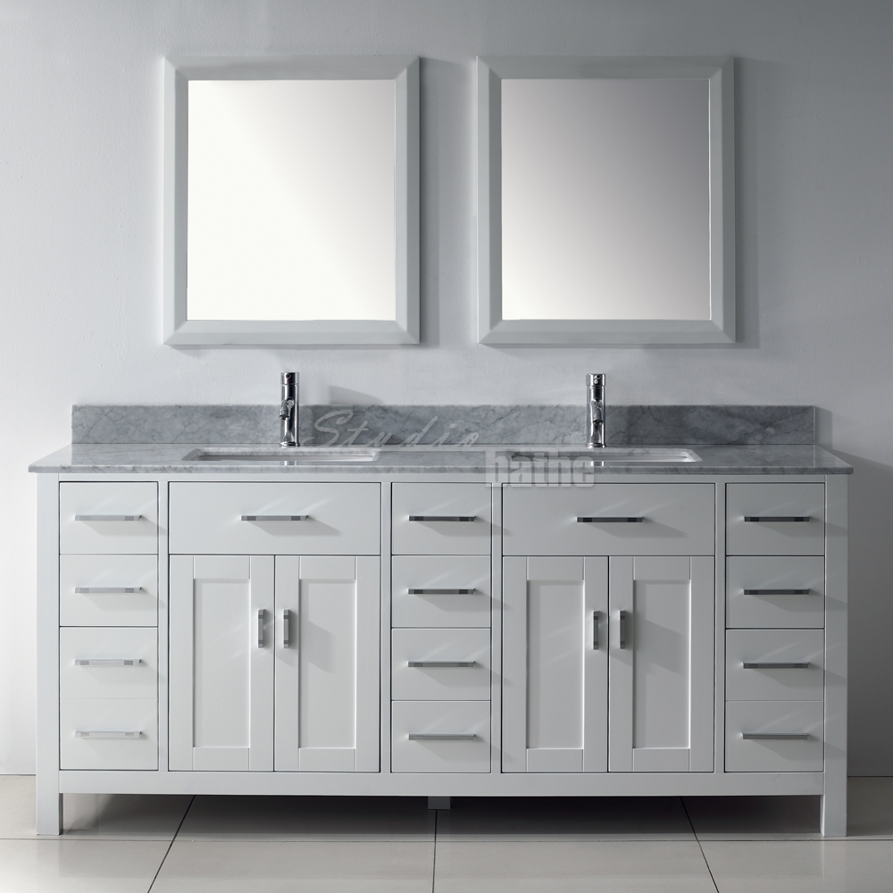 Kalize 75 white for Costco bathroom vanities canada