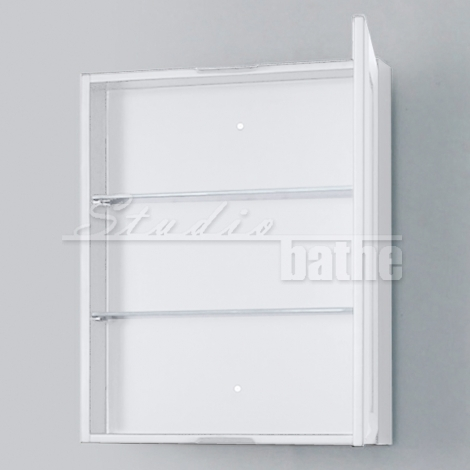 MC 22 White Mirrored Cabinet